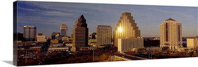 Skyscrapers in a city, Austin, Texas