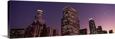 Skyscrapers in a city, City of Los Angeles, California