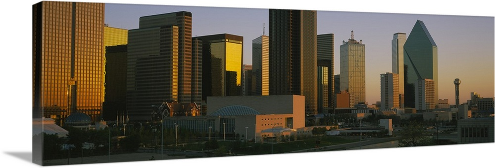 Skyscrapers In A City Dallas Texas Wall Art Canvas Prints Framed Prints Wall Peels Great Big Canvas