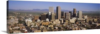 Skyscrapers in a city, Denver, Colorado