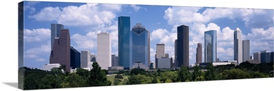 Skyscrapers in a city, Houston, Texas