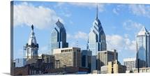Skyscrapers in a city, Liberty Place, Philadelphia, Pennsylvania