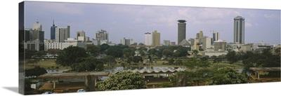 Skyscrapers in a city, Nairobi, Kenya