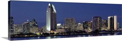 Skyscrapers in a city, San Diego, California