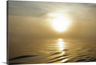 Smooth Sea at Misty Dawn, Waterford Harbour, Co Waterford, Ireland