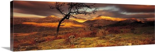 Snowdonia National Park Wales UK