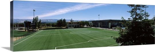 Soccer field at a university campus santa clara university santa soccer field at a university campus santa clara university santa clara california publicscrutiny Gallery