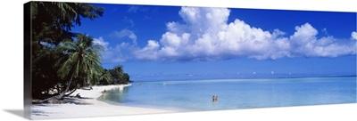 South Pacific Ocean Matira Beach Tahiti