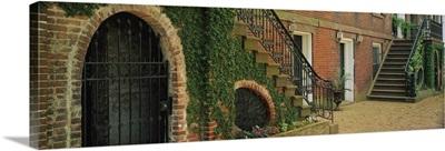 Staircases of a house, West Jones Street, Savannah, Georgia