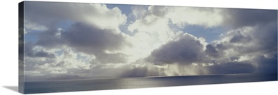 Storm clouds over the sea, Republic of Ireland