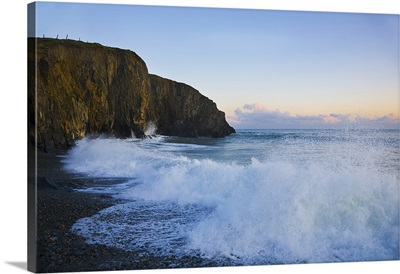 Stormy Seas at Ballyvooney Cove, The Copper Coast, County Waterford, Ireland