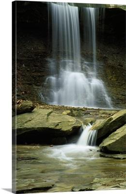 Stream below Blue Hen Falls, Cuyahoga National Park, Ohio