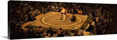 Sumo wrestling, Ryogoku Kokugikan