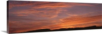 Sunrise at Lajitas TX