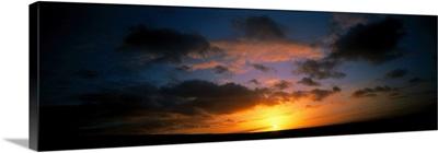Sunrise Devon England