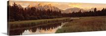 Sunrise Grand Teton National Park WY
