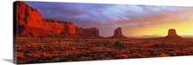 Sunrise Monument Valley AZ