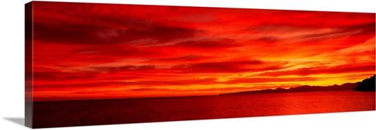 Sunrise Mulege Baja California Mexico