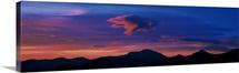 Sunrise Rocky Mountain National Park CO