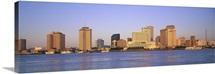 Sunrise Skyline New Orleans LA