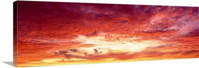 Sunset Atlantic Ocean Brazil