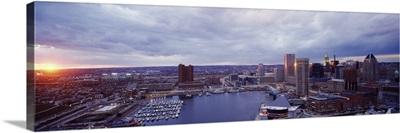 Sunset Baltimore MD