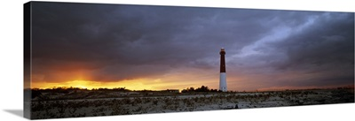 Sunset Barnegat Lighthouse State Park NJ