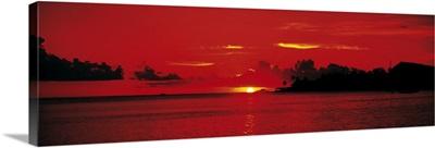 Sunset Bora Bora French Polynesia