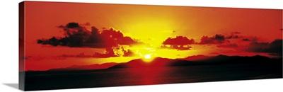 Sunset British Virgin Islands