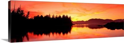 Sunset Broken Islands Pacific Rim National Park BC Canada
