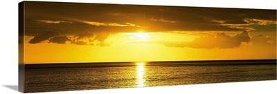 Sunset Caribbean Sea