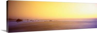 Sunset Coastline Mendocino County CA
