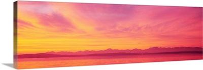Sunset Colorful Clouds WA