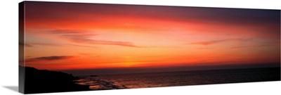 Sunset Cromer Pier Norfolk England