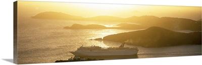 Sunset Cruise Ship St Thomas US Virgin Islands