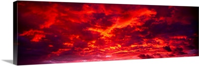 Sunset Dragoon Mountains AZ