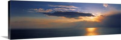 Sunset English Channel England