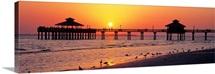 Sunset Fort Myers Beach FL