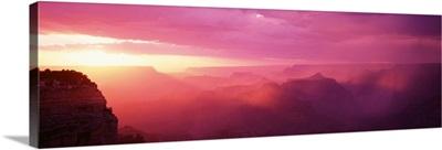 Sunset Grand Canyon National Park AZ