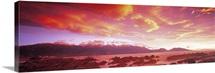Sunset Kaikoura South Island New Zealand