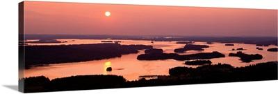 Sunset Kuopio Finland