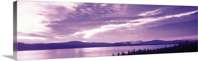 Sunset Lake New Zealand