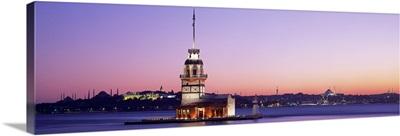 Sunset Lighthouse Istanbul Turkey