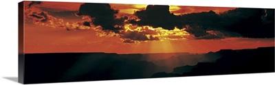 Sunset Lipan Point Grand Canyon National Park AZ