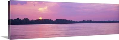 Sunset Mississippi River Memphis TN