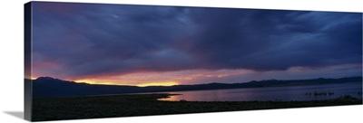 Sunset Mono Lake CA