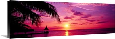 Sunset Montego Bay Jamaica