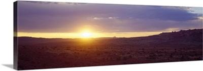 Sunset Monument Valley AZ