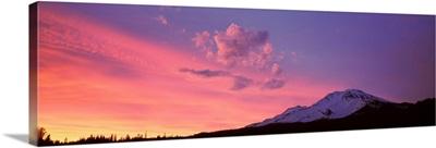 Sunset Mount Shasta CA