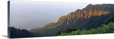 Sunset Na Pali Coast Kauai HI